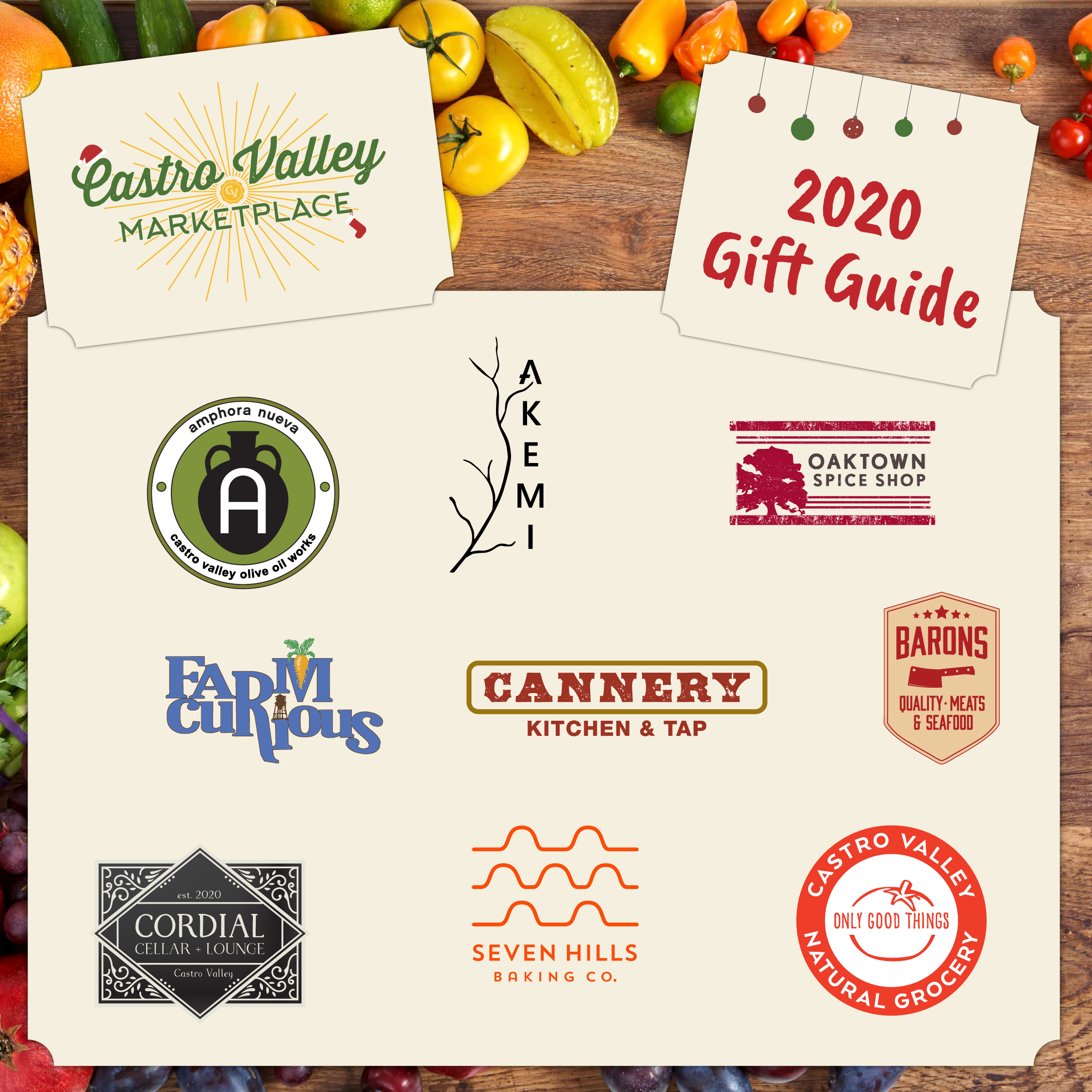 Castro Valley Marketplace Gift Guide 2020