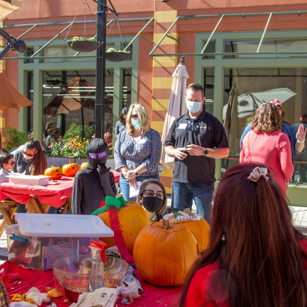 Castro Valley Marketplace Pumpkin Carving Contest on the Paseo